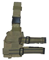 Large Tactical Army Coyote Tan Pistol Handgun Holster Drop