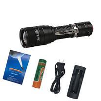 LED Tactical Flashlight, SurLight 1100 Lumens Super Bright