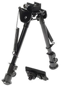 """UTG Tactical OP Bipod, Rubber Feet, Center Height 8.3""""-12.7"""