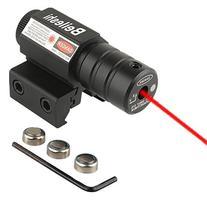 Beileshi Tactical Red Laser Beam Dot Sight Scope for Pistol/