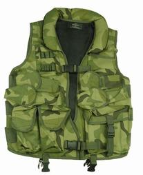 Polyester Tactical Vest with Soft Collar