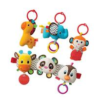 Infantino Tag Along Travel Pets with Musical Travel Trio