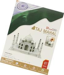 Taj Mahal 3D Puzzle With Book 87-Piece