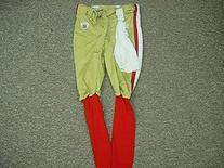 Takeo Spikes San Francisco 49ers 2009 Game Pants