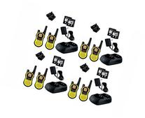 8-PACK Motorola TALKABOUT MH230R FRS/GMRS 2-Way Radios, 23-