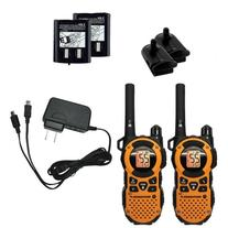 35-mile Talkabout Water Resistant Orange Two-Way Radio Pair