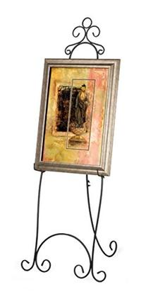 Displays2go 71.25 inches Tall Floor Standing Easel Stand