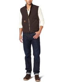 Carhartt Men's Big & Tall Sandstone Vest Arctic Quilt Lined,