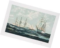 Tall Ships Maneuvering