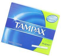 Tampax Anti-Slip Grip Cardboard Applicator Super Absorbency