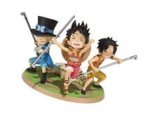 Bandai Tamashii Nations Luffy & Ace & Sabo A Promise of
