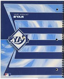 Tampa Bay Rays 3 Subject Notebook