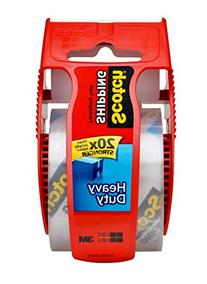 Scotch Packaging Tape with Dispenser, 1.88-Inches x 1000-