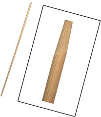 54 inch Tapered Wood Handle Only -- 12 per case