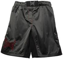 TapouT Fight Shorts, 36-Inch, Gray