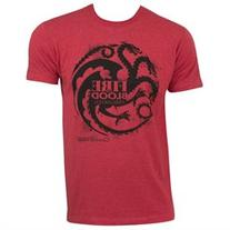 Game Of Thrones Men's Targaryen Fire Blood Tee Shirt