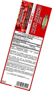 TNVitamins Tart Cherry Extract 1200 Mg