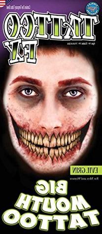 "Loftus International FX ""Evil Grin"" Tinsley Face Tattoo"