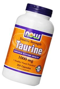 NOW Foods Taurine Double Strength 1000mg, 100 Capsules