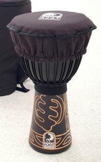 """Toca TDHAT-10 Djembe 10"""" Black padded Hat for Djembe"""