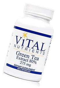 Vital Nutrients - Green Tea Extract 275 mg 60 caps