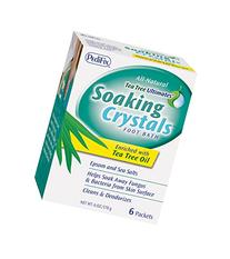 PediFix Soaking Crystals Foot Bath -  1 oz. packets per box