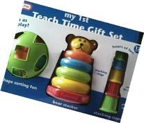 Teach Time Gift Set with Shape Sorter, Bear Stacker Stacking