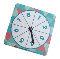 Teaching Tree Number Spinner ~ 4 Count