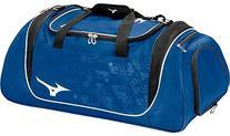 Mizuno Team Duffle Bag, 26 x 14 x 14-Inch, Royal/Black