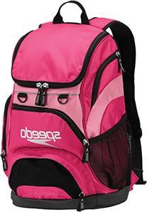 Speedo Teamster Backpack 25L Fuchsia Purple/Azalea Pink