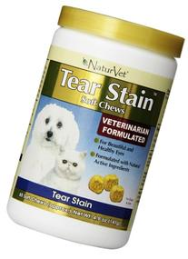 NaturVet 65 Count Tear Stain Soft Chew for Pets