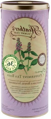 Heather's Tummy Teas Organic Peppermint Tea Bags, 4.2 oz