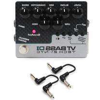 "Tech 21 VTB-DI VT Bass Direct Input DI-Box Pedal w/ 2x 6"""