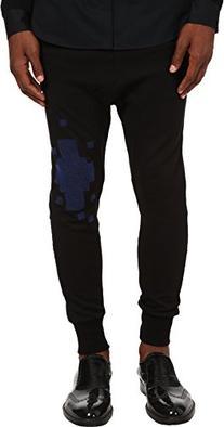 Vivienne Westwood Men's Tech Felpa Jogger Black/Blue MD X 26