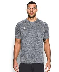 Under Armour Men's Tech Short Sleeve T-Shirt, Black, XXXX-
