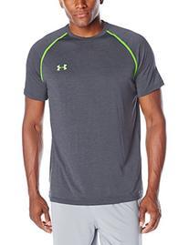 Men's Under Armour Tech Short Sleeve T-Shirt, Stealth Gray,