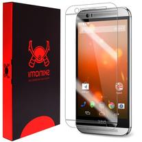 HTC One M8 Screen Protector, Skinomi TechSkin Full Coverage