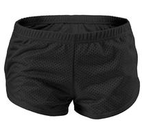 Soffe Juniors Teeny Tiny Mesh Short, Small, Black