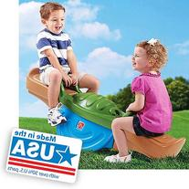 Teeter-Totter for children with ample outdoor activity easy-