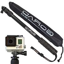 GoRad Gear Selfie Stick for GoPro Hero Cameras, Waterproof,