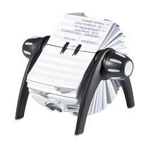Telindex Rotary Address Card File Holds 500 4 1/8 X 2 7/8
