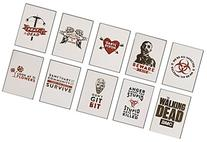 Walking Dead Temporary Tattoos - Set of 10 AMC Licensed