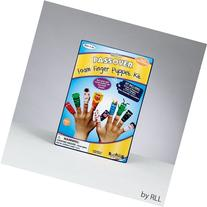 Ten Passover Plagues Foam Finger Puppet Kit by Rite Lite