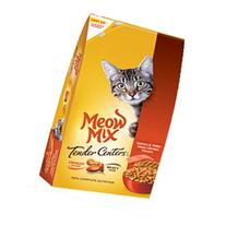 Meow Tender Centers Dry Cat Food Salmon & White Meat Chicken