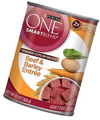 Purina ONE SmartBlend Tender Cuts in Gravy Wet Dog Food -  3