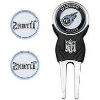 NFL Tennessee Titans Divot Tool with 3 Golf Ball Markers