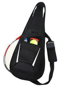 Ace Tennis Bag - Midnight Black