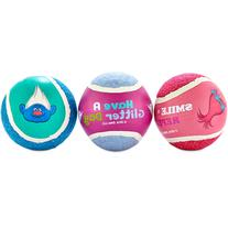 Trolls 3-Pack Tennis Balls, Medium