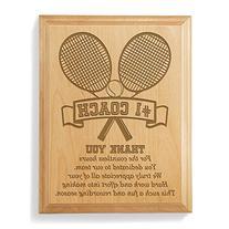 Kate Posh - #1 Tennis Coach Plaque and Award