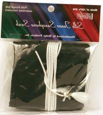 Hodge Silk Tenor Saxophone Swab - Black